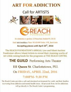 Art for Addictions Call for Artists Poster